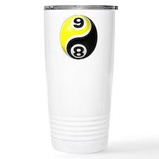8 Ball 9 Ball Yin Yang Travel Mug