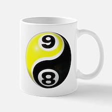 8 Ball 9 Ball Yin Yang Mug