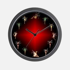 Funny Faerie Wall Clock