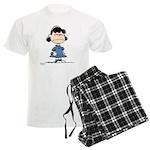 Lucy Van Pelt Men's Light Pajamas