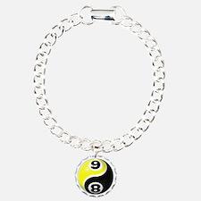 8 Ball 9 Ball Yin Yang Bracelet