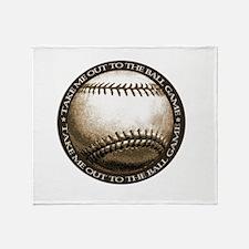 Great design for the baseball Throw Blanket