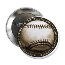 """Great design for the baseball 2.25"""" Button"""