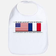 USA - France Bib
