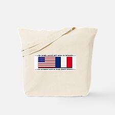 USA - France Tote Bag