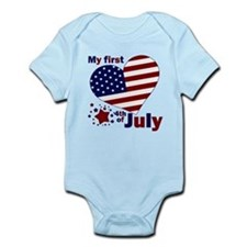 first 4th of july Infant Bodysuit