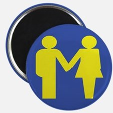 """M for Marriage 2.25"""" Magnet (10 pack)"""