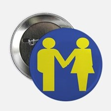 """M for Marriage 2.25"""" Button"""