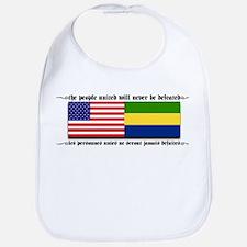 USA - Gabon Bib