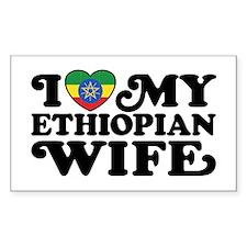 Ethiopian Wife Decal
