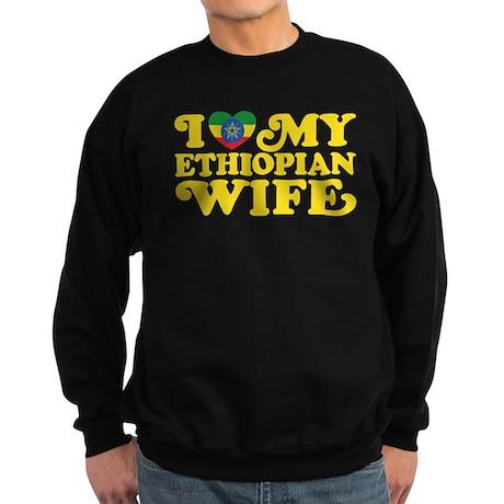 Ethiopian Wife Sweatshirt (dark)
