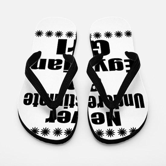 Never Underestimate An Egyptian Girlfri Flip Flops
