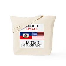 Haitian Immigrant Tote Bag