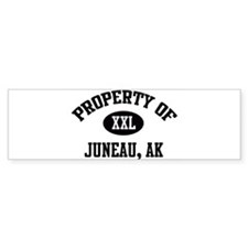 Property of Juneau Bumper Bumper Sticker