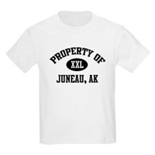Property of Juneau Kids T-Shirt