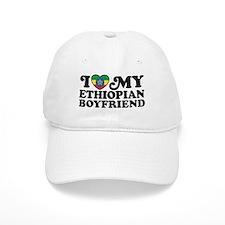 I Love My Ethiopian Boyfriend Baseball Cap