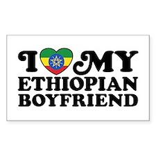 I Love My Ethiopian Boyfriend Decal