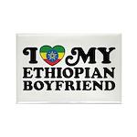I Love My Ethiopian Boyfriend Rectangle Magnet