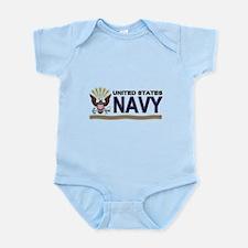 US Navy Eagle & Anchor Infant Bodysuit