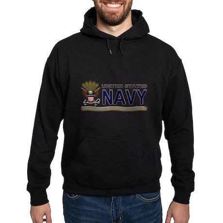 US Navy Eagle & Anchor Hoodie (dark)