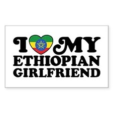 Ethiopian Girlfriend Decal
