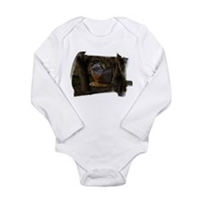 Red-Shouldered Hawk Long Sleeve Infant Bodysuit
