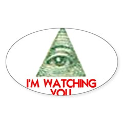 I'M WATCHING YOU Decal