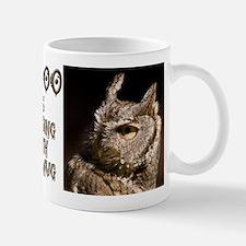 Burrowing Owl Profile Mug