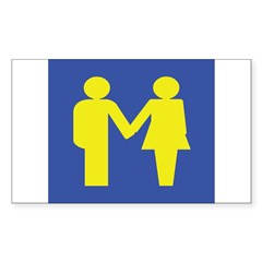 M is for Marriage Decal
