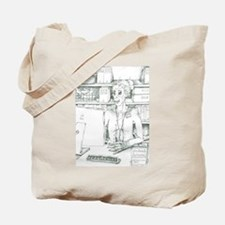 Zombrarian at your Disposal Tote Bag
