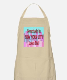Someone In New York City Love BBQ Apron