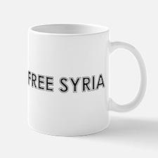 Free Syria Mugs