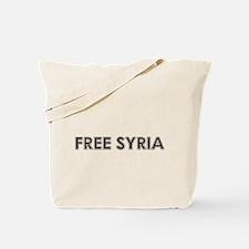 Cool Free syria Tote Bag