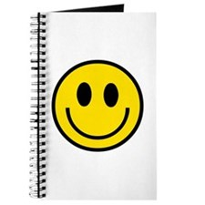 70's Smiley Face Journal