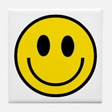 70's Smiley Face Tile Coaster