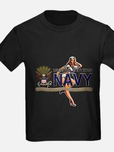 USN Navy Pin Up Babe T