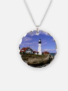 Maine Lighthouse Necklace