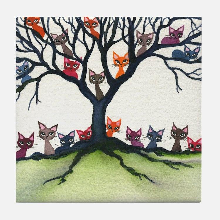 Windhoek Stray Cats Coaster