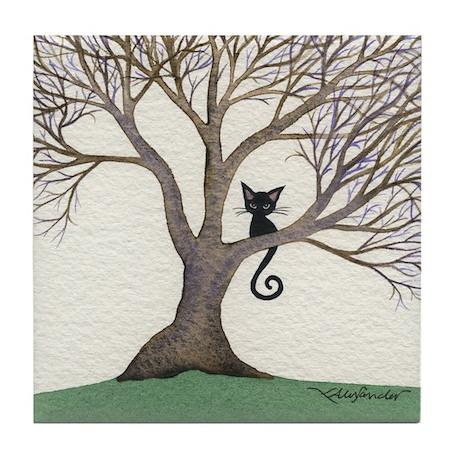 Glendora Stray Cat Coaster
