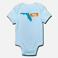 State Quote - Bred in Florida Infant Bodysuit