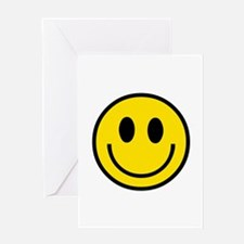 70's Smiley Face Greeting Card