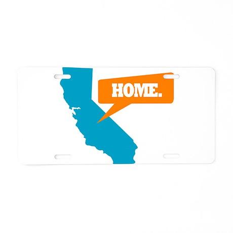 State Quote - California - Ho Aluminum License Pla
