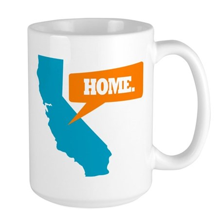State Quote - California - Ho Large Mug