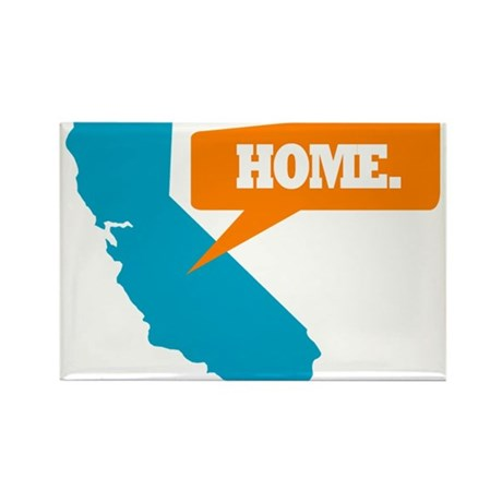 State Quote - California - Ho Rectangle Magnet