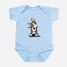 Brindle Bull Terrier Infant Bodysuit