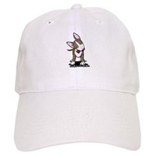 Brindle Bull Terrier Baseball Cap