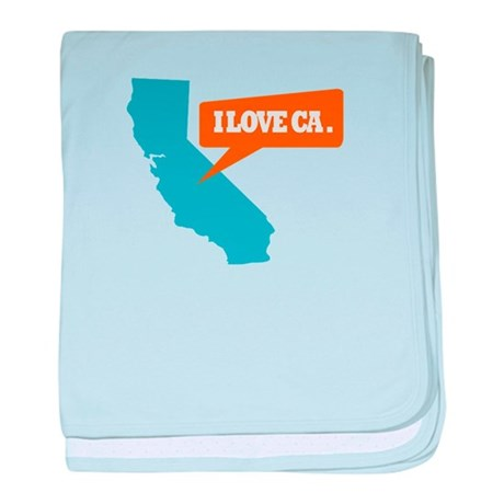 State Quote - California - I baby blanket
