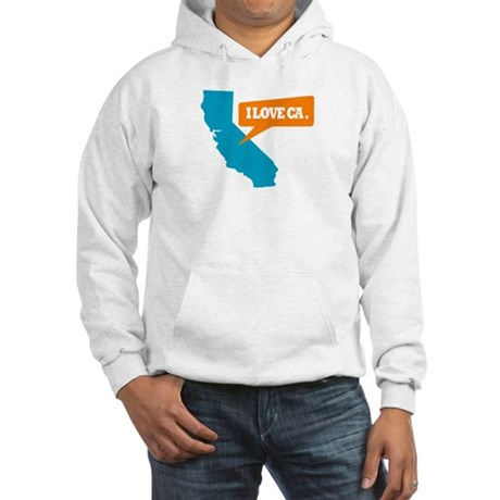 State Quote - California - I Hooded Sweatshirt
