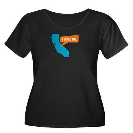 State Quote - California - I Women's Plus Size Sco