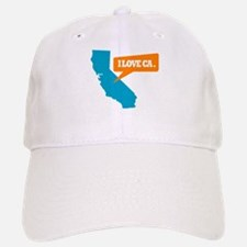 State Quote - California - I Baseball Baseball Cap